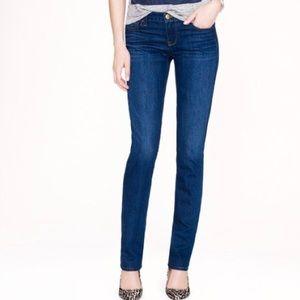 J Crew Matchstick Skinny Straight Jeans 27